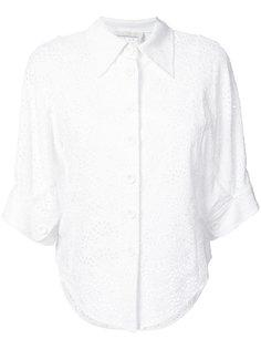 рубашка с английской вышивкой Chloé