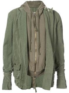 куртка с капюшоном  Greg Lauren