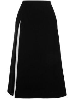 юбка с контрастной вставкой сбоку Le Ciel Bleu
