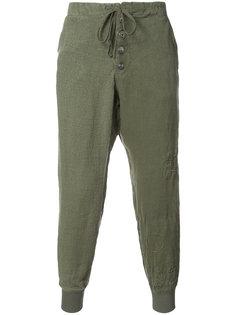 брюки со стяжкой Greg Lauren