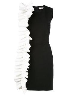 платье-мини с оборками MSGM