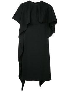 асимметричное платье-кейп Le Ciel Bleu