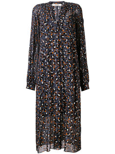 leopard print shirt dress Dorothee Schumacher
