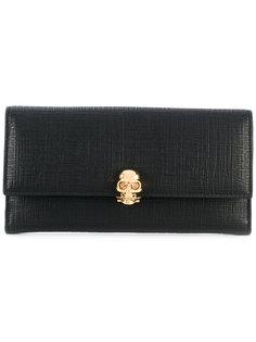 кошелек с черепом Alexander McQueen