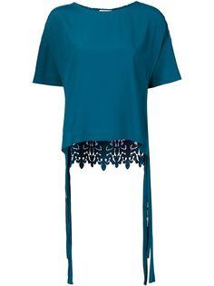 блузка в технике макраме Nº21