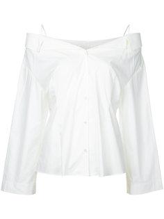 блузка с открытыми плечами Le Ciel Bleu