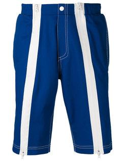 шорты с контрастными полосками Andrea Crews