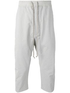 брюки с заниженным шаговым швом Rick Owens DRKSHDW
