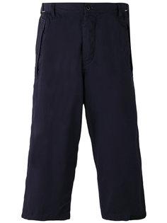 укороченные брюки карго Sacai