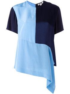 асимметричная футболка  Diane Von Furstenberg