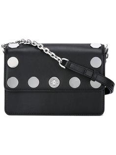 сумка на плечо с заклепками Michael Michael Kors