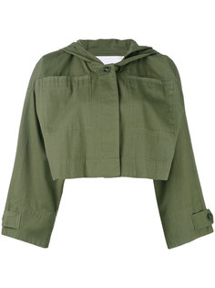 укороченная куртка в стиле милитари Alexander Wang