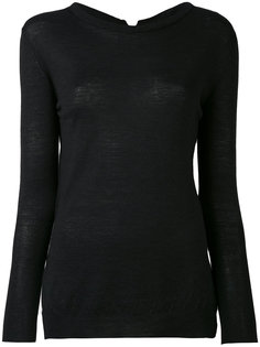 side-slit longsleeve sweater Kristensen Du Nord