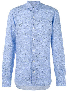 fine floral print shirt  Barba