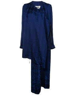 открытое асимметричное пальто Uma Wang