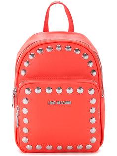 рюкзак с заклепками Love Moschino