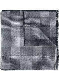 шарф в ломаную клетку Alexander McQueen