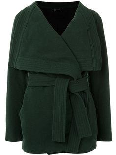 tie fastening coat Uma | Raquel Davidowicz