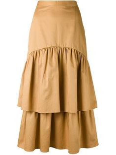 многослойная юбка с рюшами Cala  Maryam Nassir Zadeh