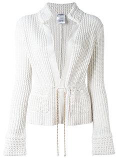 трикотажный пиджак Chanel Vintage