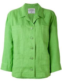 пиджак свободного кроя Chanel Vintage