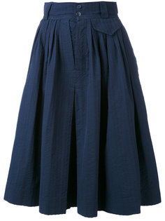 плиссированная юбка Yves Saint Laurent Vintage