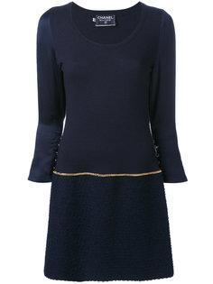 платье с цепочкой Chanel Vintage