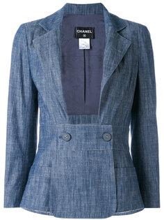 приталенный пиджак Chanel Vintage