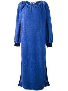 удлиненное платье-халат Yves Saint Laurent Vintage
