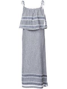 ruffle midi dress Cecilie Copenhagen
