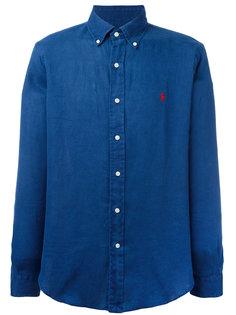 джинсовая рубашка с вышитым логотипом Polo Ralph Lauren