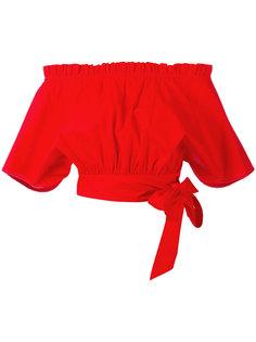 блузка с открытыми плечами  Saloni