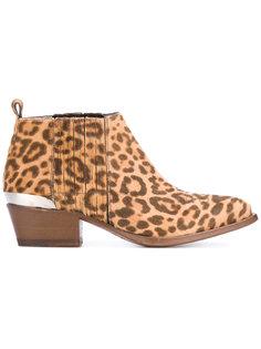 ботинки с животным принтом Buttero