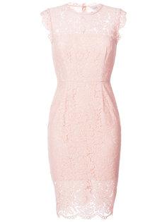 приталенное кружевное платье Rachel Zoe