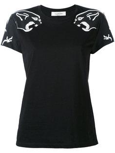футболка с тигром Valentino