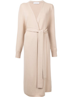 cashmere long belted cardigan Ryan Roche
