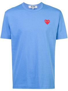 футболка с нашивкой в виде сердца Comme Des Garçons Play