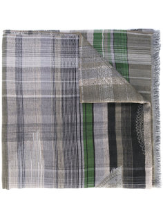 plaid scarf Etro