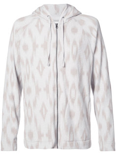 patterned zip hoodie Outerknown