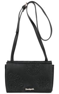 Черная сумка из экокожи Desigual