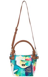 Женская сумка с принтом Desigual