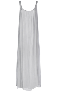 Длинное серое платье Compagnia Italiana