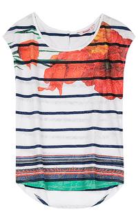 Трикотажная блузка Desigual