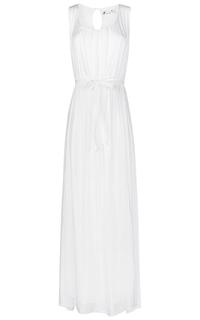 Белое длинное платье Compagnia Italiana