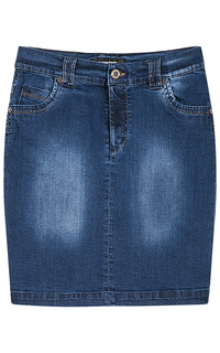 Джинсовая юбка La Reine Blanche