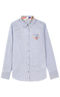 Рубашка с вышивкой Desigual