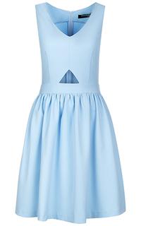 Платье с вырезом La Reine Blanche