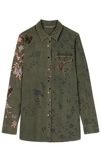 Блузка с принтом Desigual