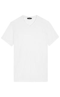 Белая футболка Jorg Weber