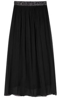 Черная юбка макси Compagnia Italiana